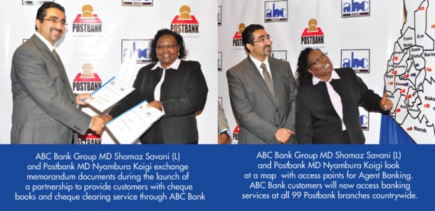 Postbank partnership