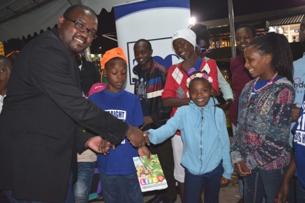 Upendo kids return- JKIA