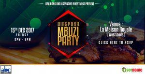 Diaspora Mbuzi Party 2017