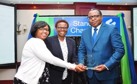 Standard Chartered STP Award