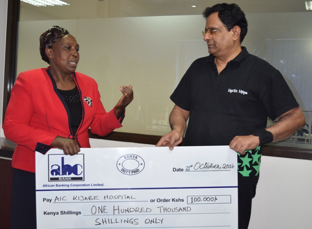 AIC Kijabe Hospital donation