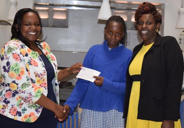 Mugure's fee donation