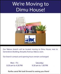 Nakuru moving
