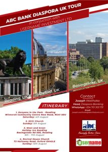 Diaspora tour UK