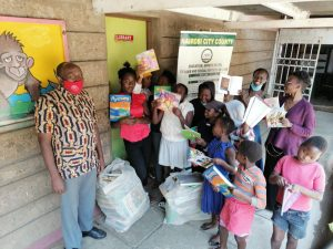 Kayole book donation