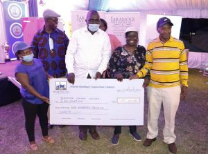 Dummy Cheque Presentation - Kisumu Golf