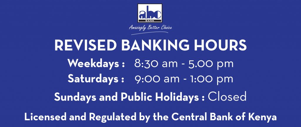 Revised banking hours web