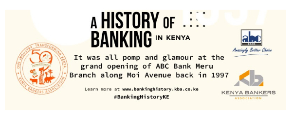 ABC Bank participates in History in Banking social media campaign by KBA – 15th July