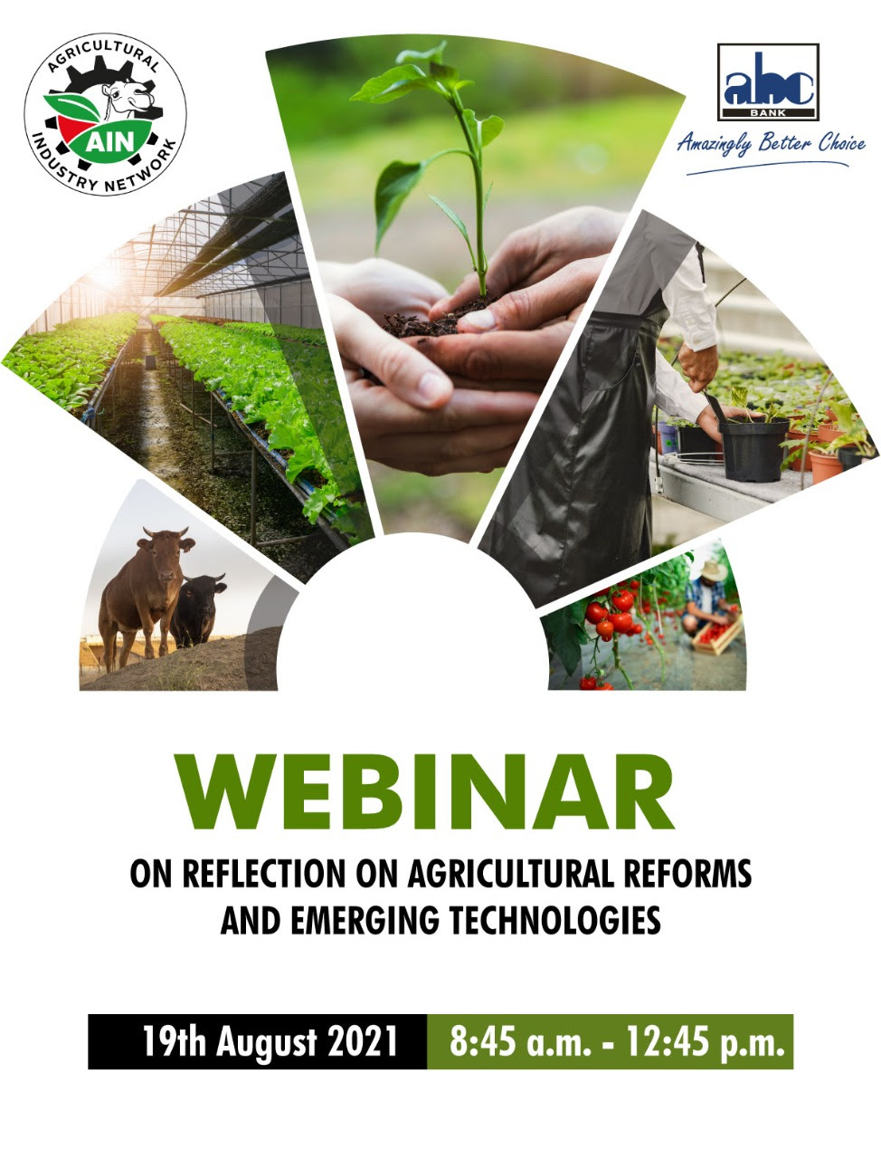 ABC Bank participates in Agriculture Webinar – 11th August